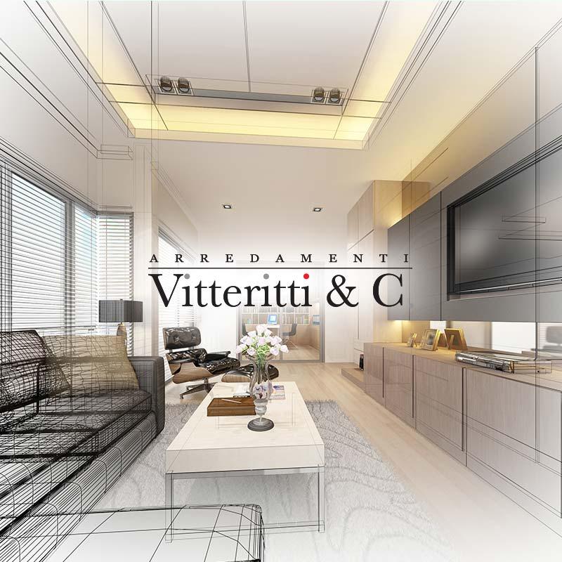 Arredamenti Vitteritti realizzazione soggiorno