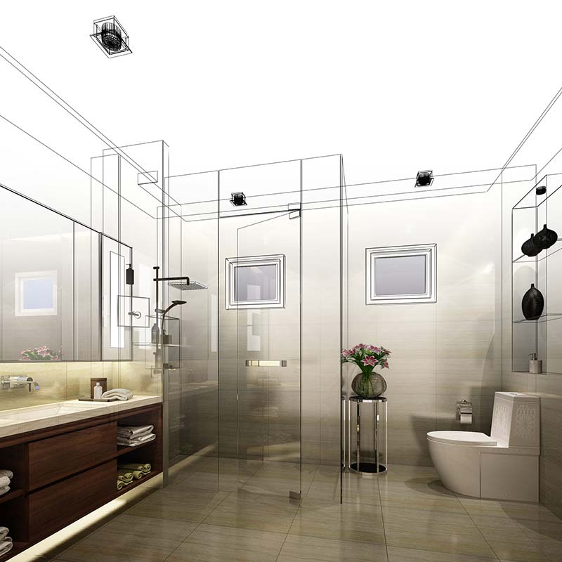 Progettazione bagni Vitteritti Arredamenti
