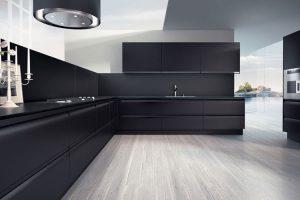 cucina nera del tongo