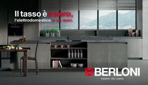 Promozione Berloni elettrodomestico 1 euro
