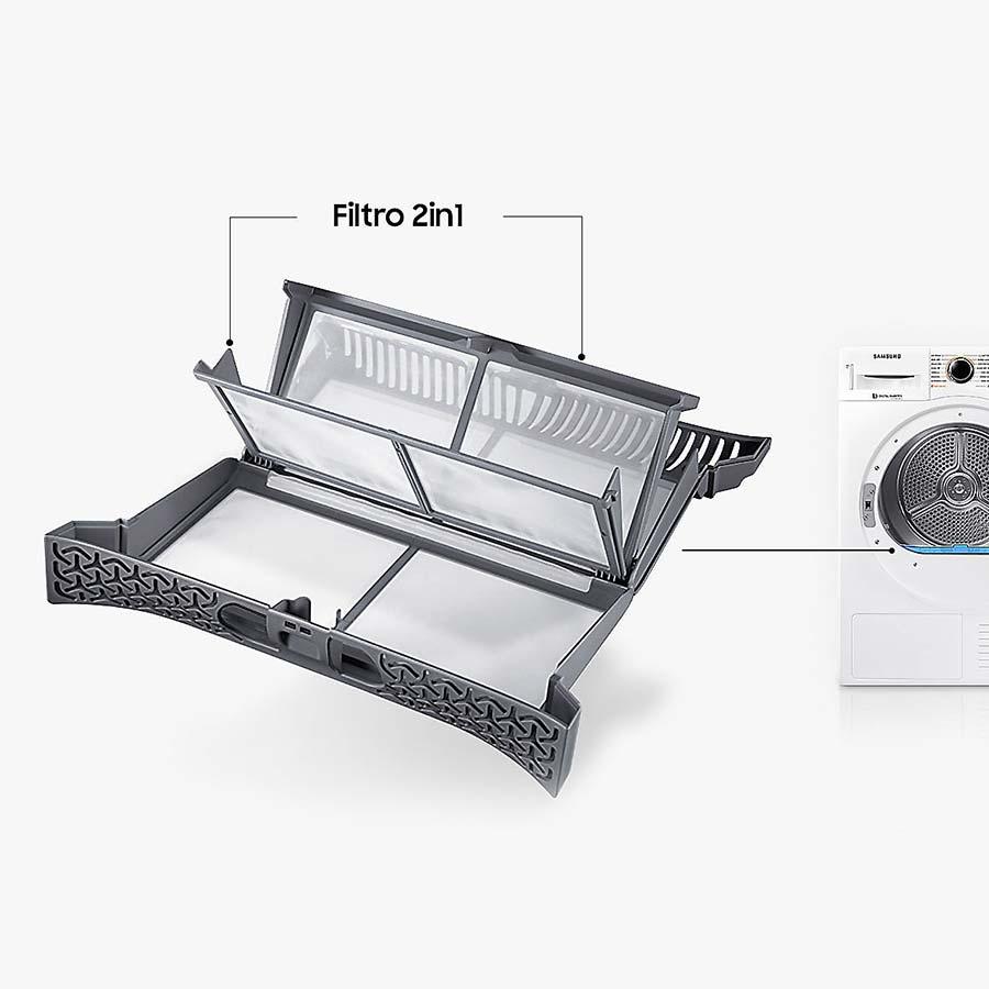 Asciugatrice Samsung DV90M6200CW filtro
